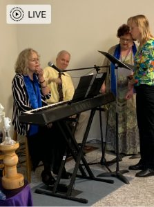 Service with Rev. Elise Cowan @ Unity Church of the Ozarks