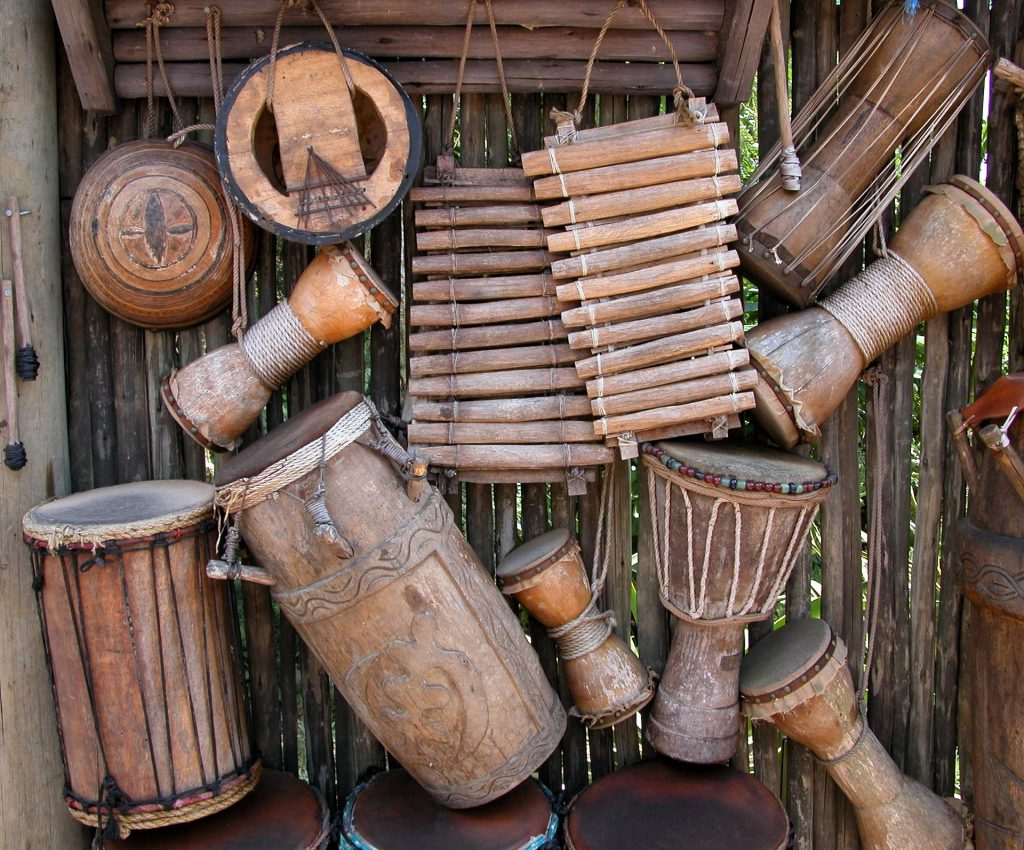 African drum collection